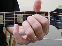 An A chord