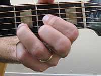 A D chord